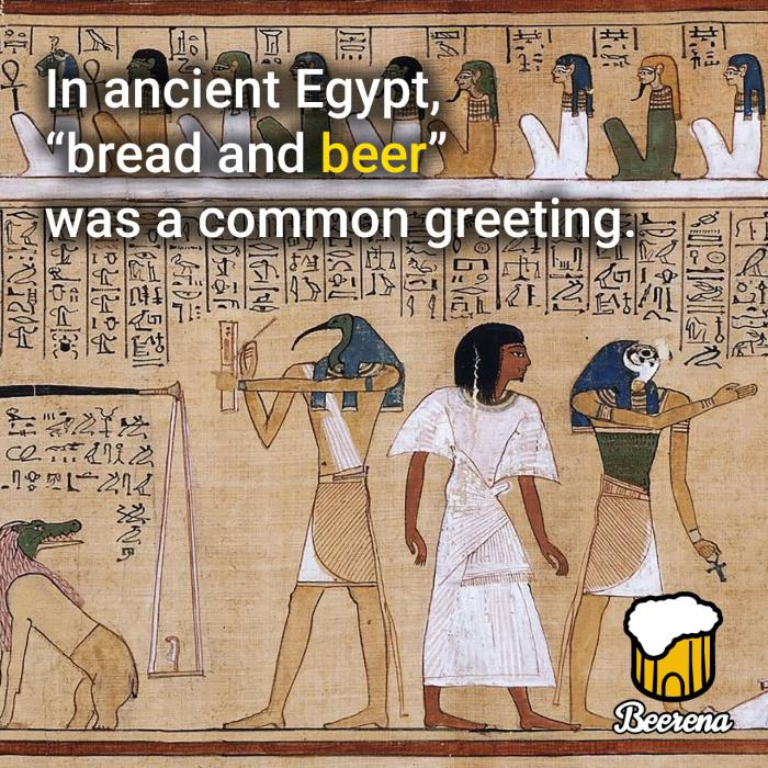 Bread and Beer in Ancient Egypt